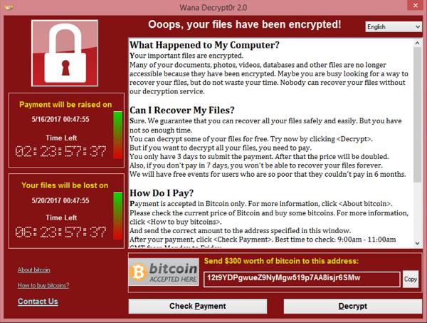 Így védekezzünk a WannaCry vírus ellen!