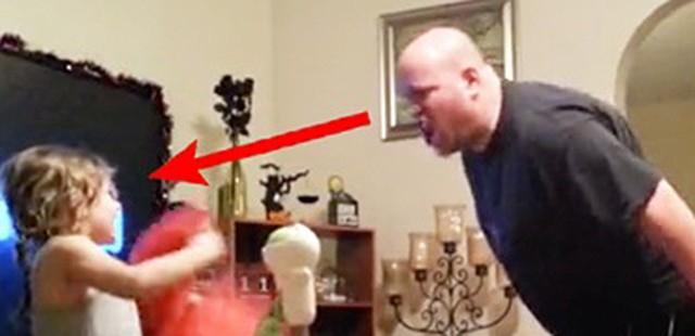 Az anya egyedül hagyta kislányát az apával! Mikor visszanézte a rejtett kamerás felvételt, szólni se tudott!