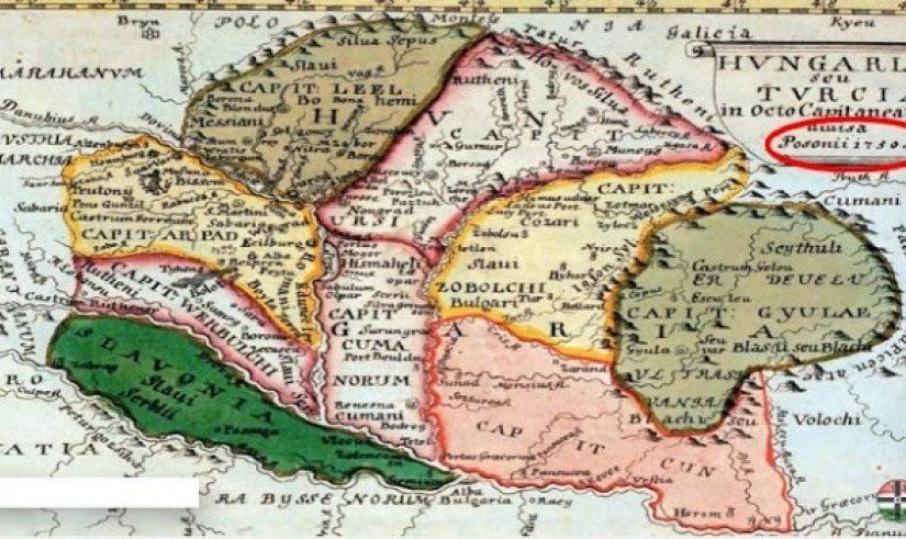 Előkerült egy 1300 éves térkép, ami meglepő dolgot mutat a magyar történelemről!