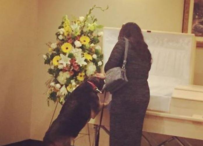 Beengedték a kutyát a kápolnába, gazdája temetésén. Kép is készült arról, amit tett: