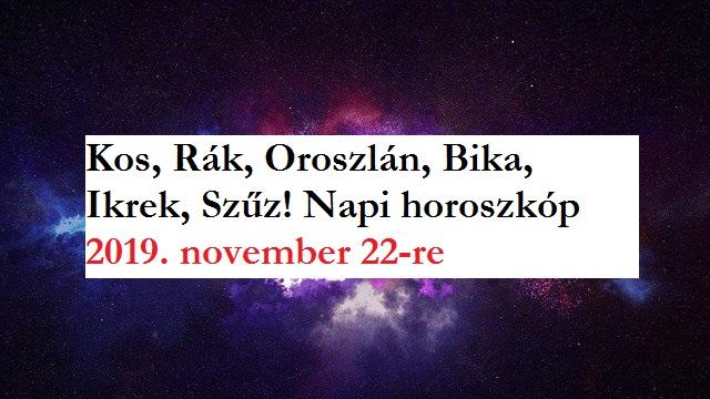 Szűz ember egyetlen horoszkóp